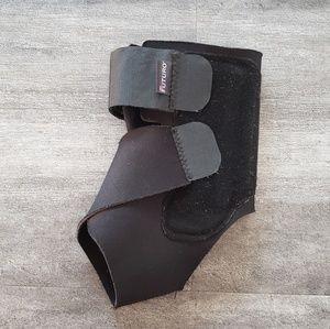 Black Futuro Ankle Foot Wrap Brace